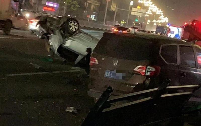 广州黄埔东路交通事故