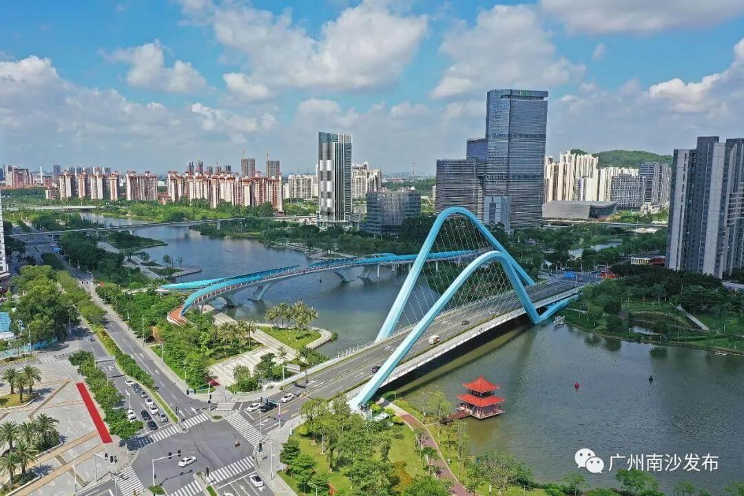广州南沙蕉门河